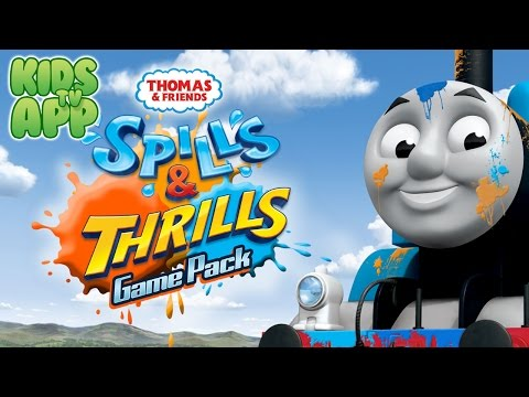 Thomas & Friends: Spills & Thrills Game Pack (HiT Entertainment) - Best App For Kids
