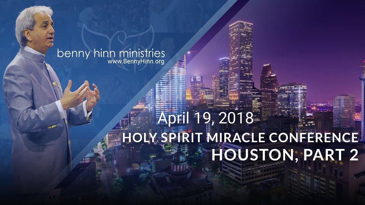 Watch Pastor Benny Hinn LIVE at Harvest Time Church in Houston, TX Part 2