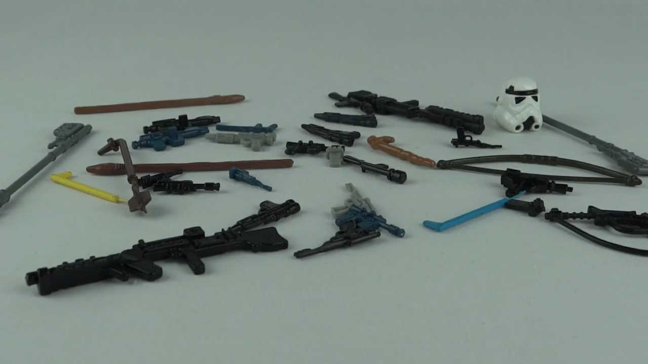 VINTAGE STAR WARS NEW REPRODUCTION//REPLICA WEAPONS  MANY TO CHOOSE FROM