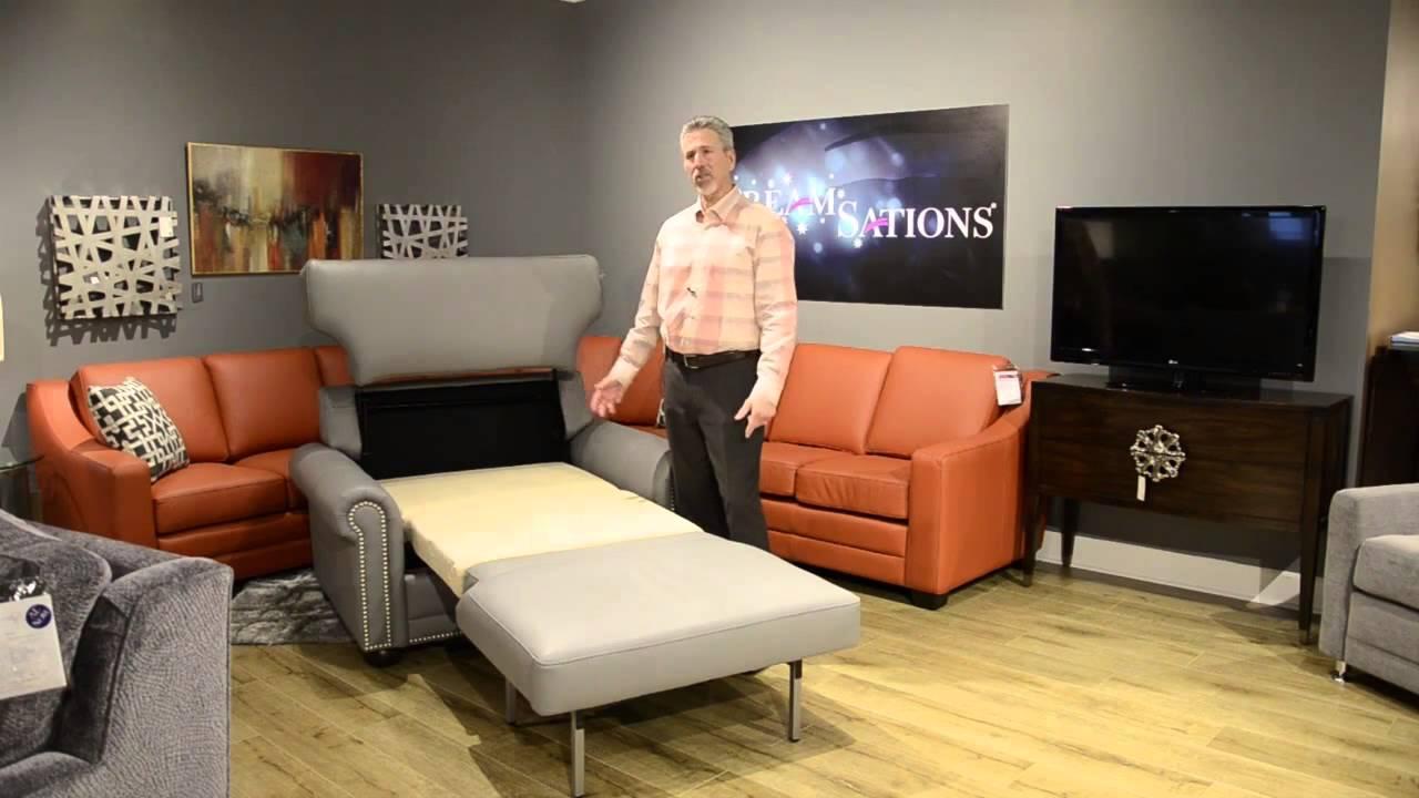 Omnia Dreamsations Cot Chair U0026 1/2 Sleeper 020915 2   YouTube
