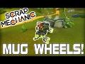Mugs for Wheels Race! Multiplayer MUG-Day! (Scrap Mechanic #121)