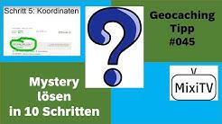 Geocaching Tipp #45 Mystery Grundlagen in 10 Schritte
