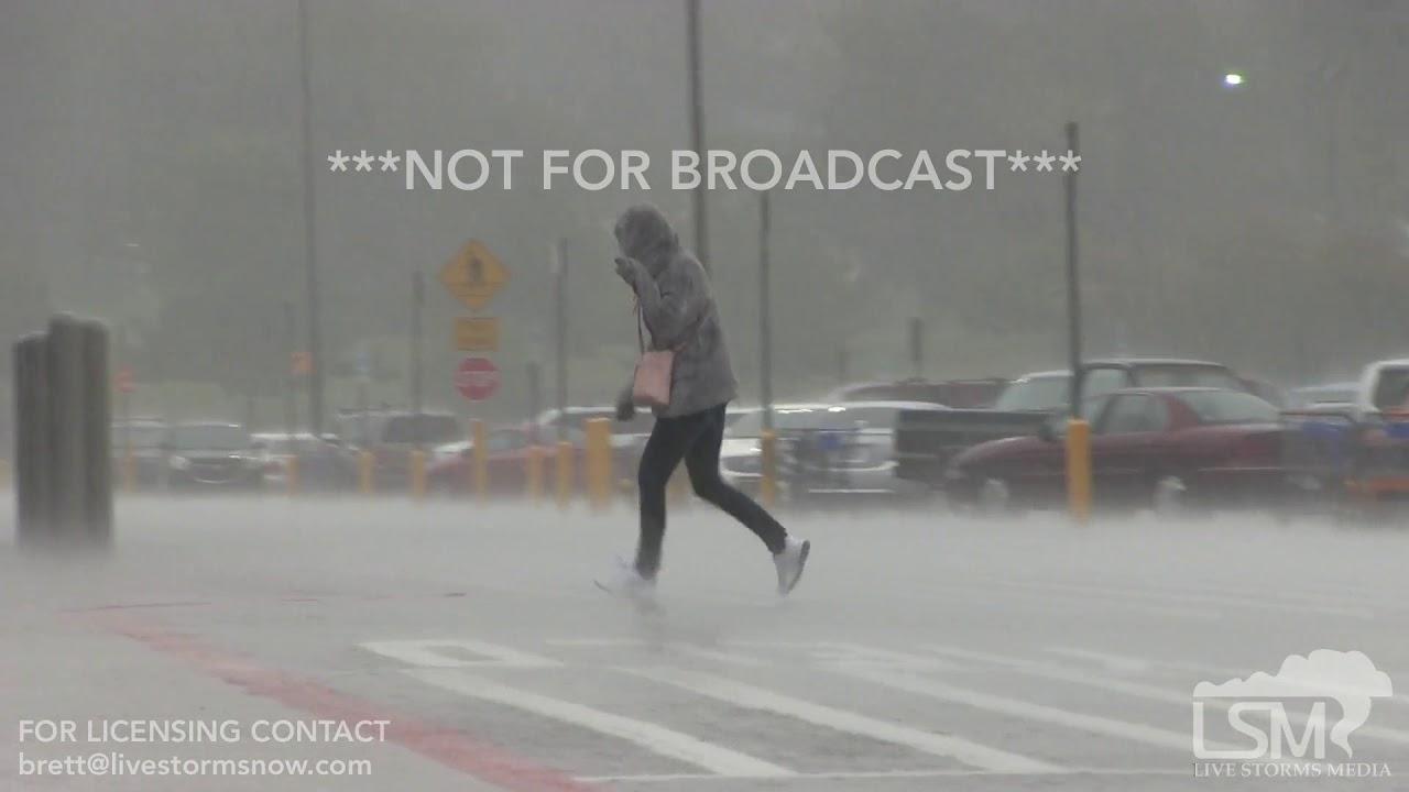 10-09-18 Tulsa, OK Tornado Warning