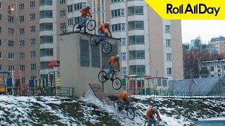 Как спрыгнуть на велосипеде с любой поверхности [Roll All Day FAQ Bike] Футплент