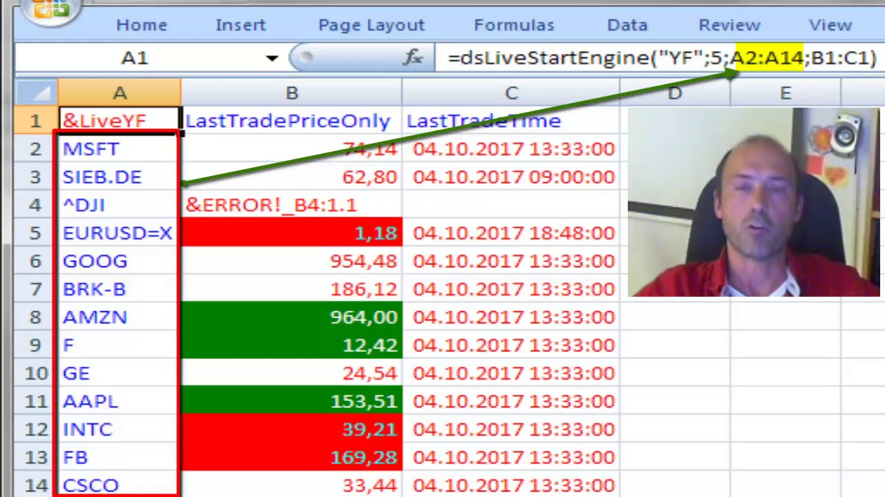 Yahoo Finance Stock Quotes Asynchronous Live Stock Prices In Excel Alpha Vantage Vs Yahoo