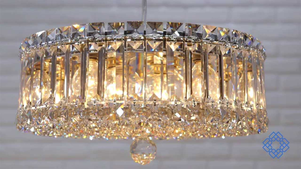 Schonbek Plaza Nine-Light Clear Spectra Crystal Pendant - Bellacor - YouTube & Schonbek Plaza Nine-Light Clear Spectra Crystal Pendant - Bellacor ... azcodes.com