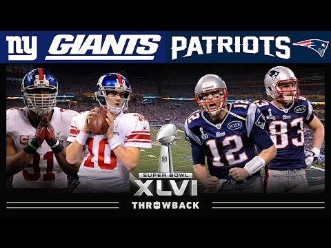 A Legacy Cemented! (Giants Vs. Patriots Super Bowl 46)