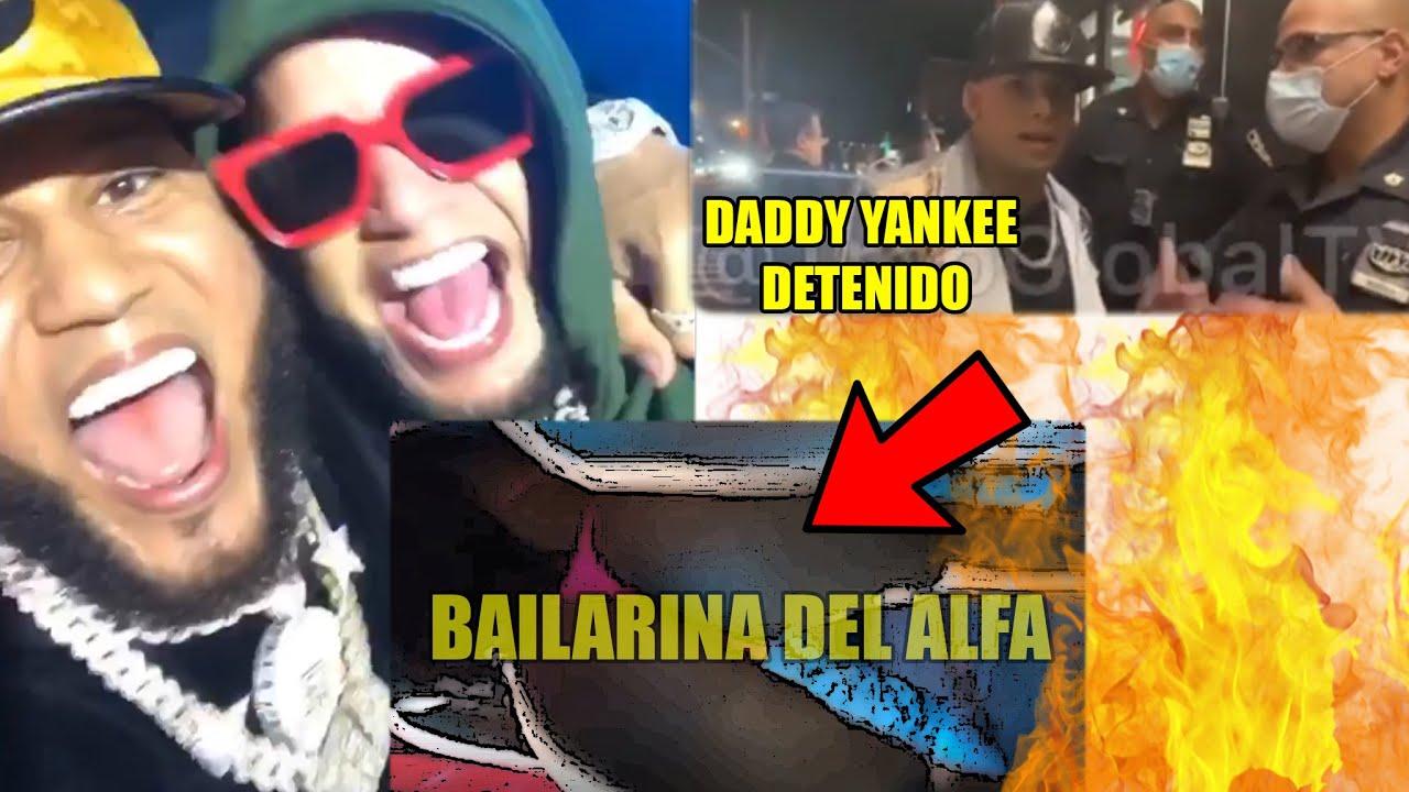 El Alfa le graba el 🍑 a su bailarina, Daddy yankee problema con policía es ¡FALSO!