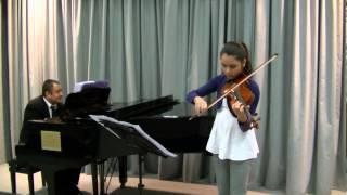 Zapateado - Pablo de Sarasate (Lucilla Mariotti - 12 anni) violin