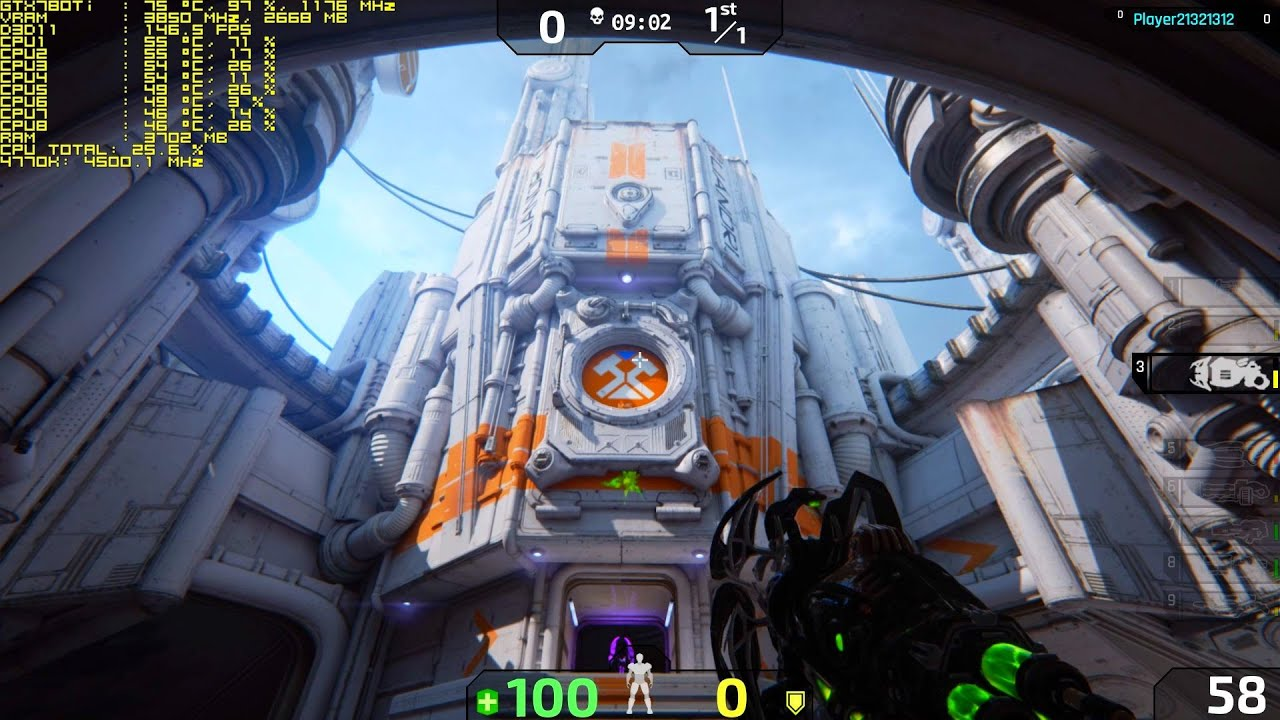 Unreal Tournament 4 【EPIC Graphics Upgrade】 I7 4770K GTX