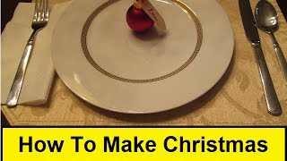 How To Make Christmas Table Place Cards (howtolou.com)