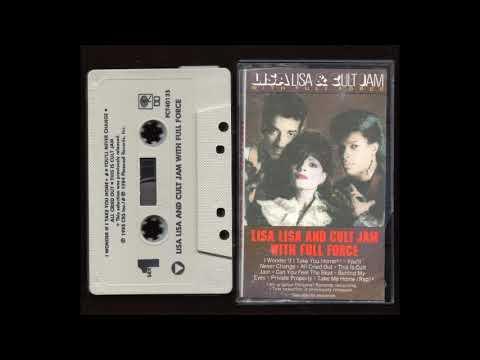 Lisa Lisa & Cult Jam - With Full Force - Full Album Cassette Tape Rip - 1984