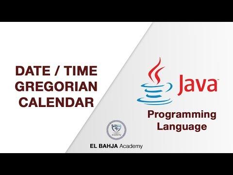 48 - Date / Time (Gregorian Calendar) : Java (Darija)
