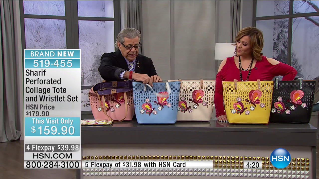 Hsn Sharif Studio Handbags 01 27 2020