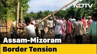 Assam, Mizoram Officials Hold Talks To Resolve Border Clash