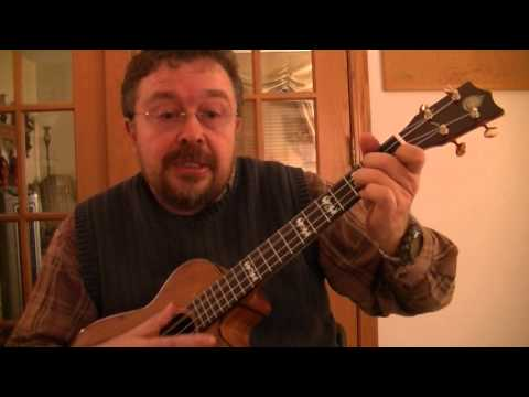 "Willard Losinger performing ""Hasta Siempre, Comandante"" with Baritone Ukulele Accompaniment"