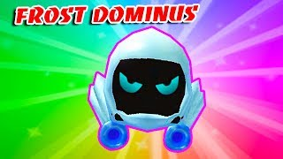 FROST DOMINUS!! The Best Rare LEGENDARY PET In BUBBLE GUM SIMULATOR!! (Roblox)