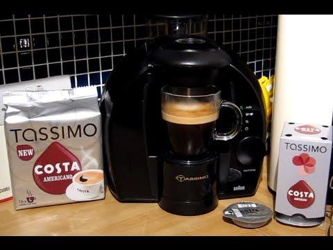Costa At Home Americano Coffee Tassimo T Disc Brewed In My Braun Coffee Machine