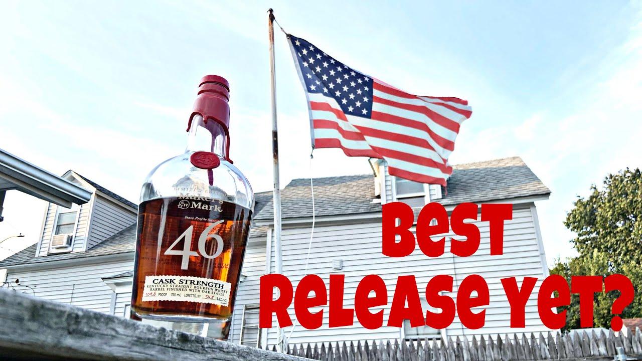 Download Maker's Mark 46 Cask Strength Bourbon Whiskey Review | Maker's Mark BEST RELEASE YET?