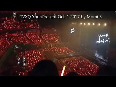 Red Ocean TVXQ Your Present Oct. 1, 2017