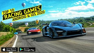 Top 10 Racing Gaṁes for Android & iOS 2020 | Realistic & High Graphics Racing Games