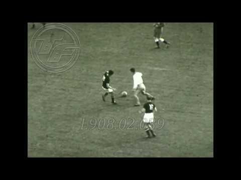 Helsinki 1952 Football   (HUN - SWE) Amateur Footage
