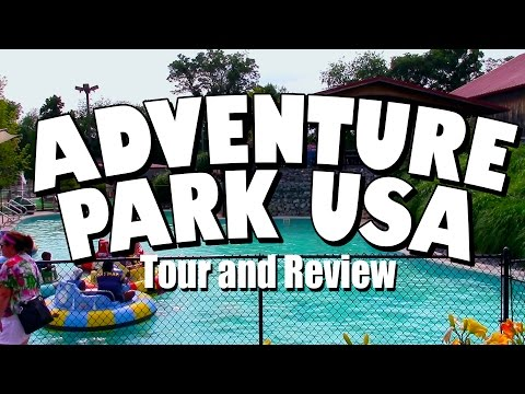 Adventure Park USA: Tour and Review with Clint Novak