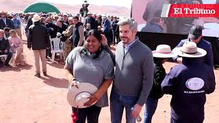"""""""Vamos a ir por Cauchari IV y V"""", aseguró el gobernador Morales"""