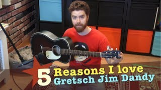 5 Reasons I Love the Gretsch Jim Dandy Guitar