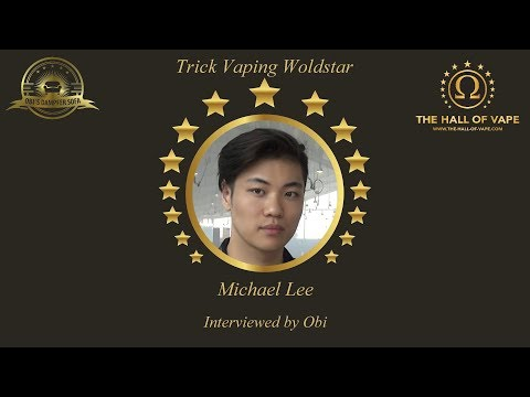 The Hall of Vape 2018 - Interview with Michael Lee - Trick Vaping Woldstar (English)