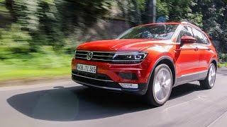 2016 Volkswagen Tiguan 2.0TSI 4Motion DSG Test Drive | Review | Fahrbericht (Deutsch) //Lets Drive//