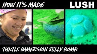 Lush How It's Made: Turtle Immersion Jelly Bomb (2018)