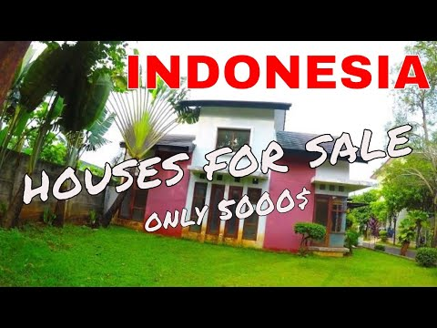 Indonesian houses for sale