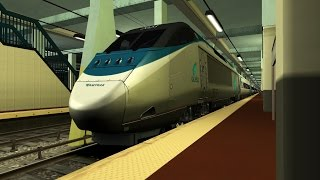 Train Simulator 2015 Hd: Amtrak Acela Express Train 2153 Cab Ride New Haven Union To New York Penn