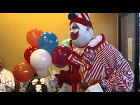 Pogo the clown at chiller