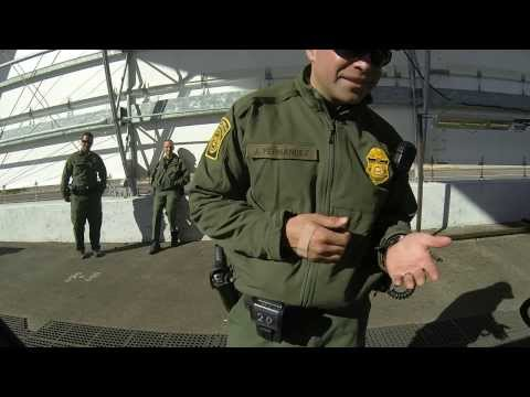 Do you Talk? Border Patrol Potty Stop - Mexican Standoff at the Immigration Inspection Station