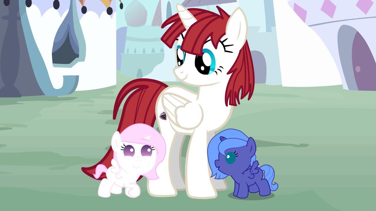 Baby Luna and Celestia...