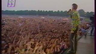 "Camouflage""Love is a shield"" The Great Commandment"" Leipzig Open Air 1990"
