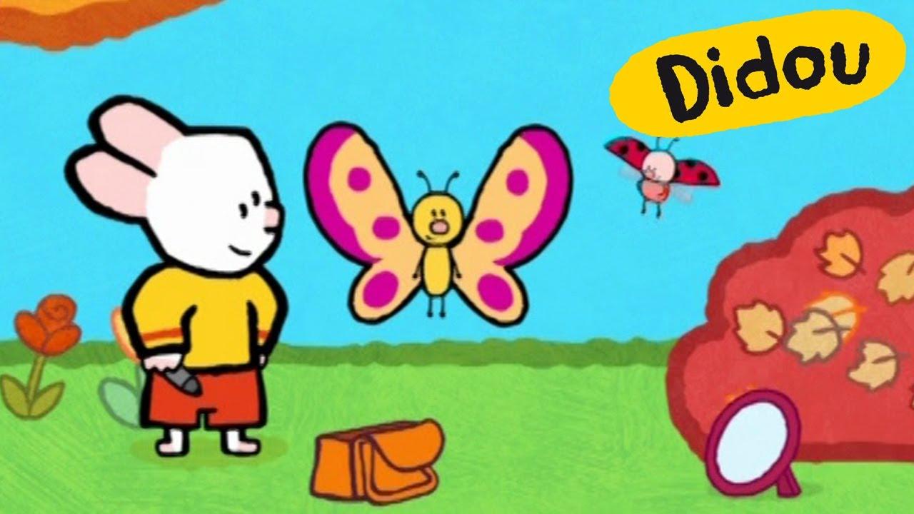 Papillon didou dessine moi un papillon dessins anim s pour les enfants youtube - Dessine un papillon ...