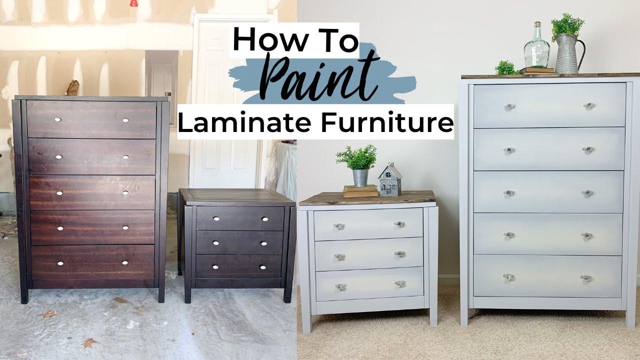 Painting Laminate Furniture   Furniture Makeover   Ashleigh Lauren