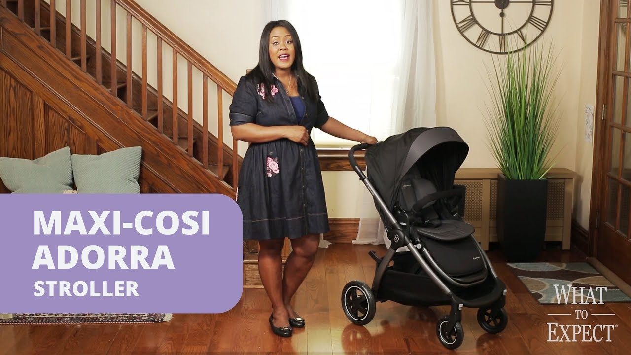 Maxi-cosi Adorra Travel System - Graphic Flower 6 Things Moms Love About The Maxi Cosi Adorra Stroller