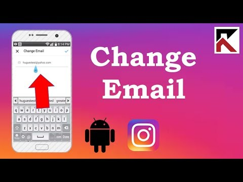 How do i change the email associated with my instagram account