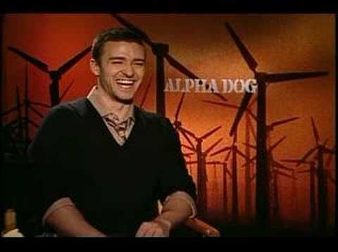Alpha Dog Justin Timberlake interview