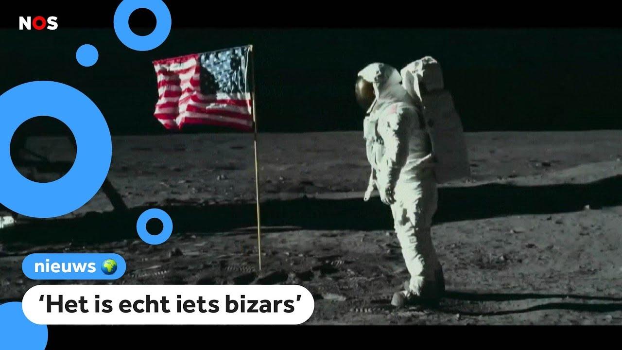 vandaag 50 jaar geleden de eerste stap op de maan
