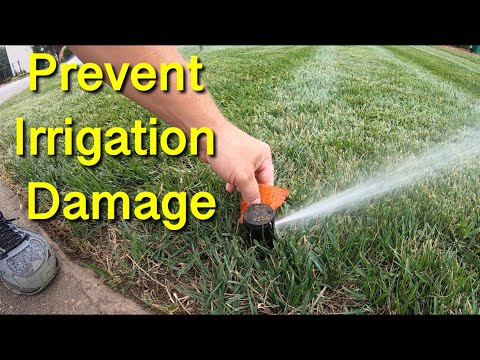 How To Prevent Irrigation Damage During Aeration