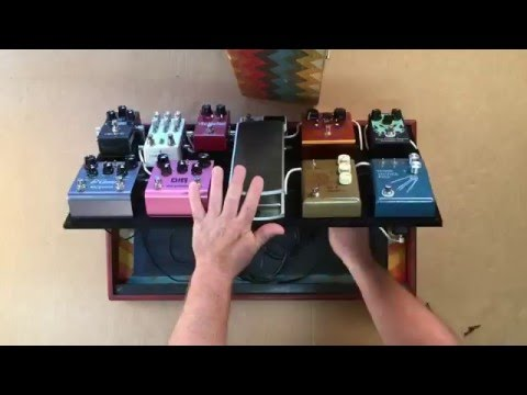 How to set up your Pedalboard - Salvage Custom Pedalboard Demonstration