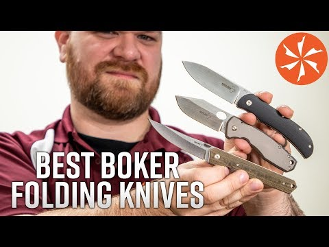 The Best Boker Plus EDC Folding Knives Available At KnifeCenter.com