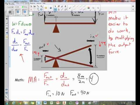Mechanical Power Transmission Video Notes 2