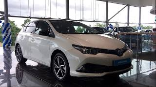 The New Toyota Auris Hybrid Luna Sport In Pearl White