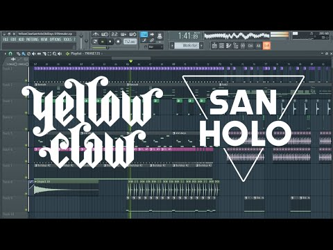 Yellow Claw & San Holo - Old Days [Remake + Free FLP]